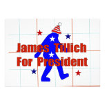 James Tillich para el presidente Anuncios Personalizados