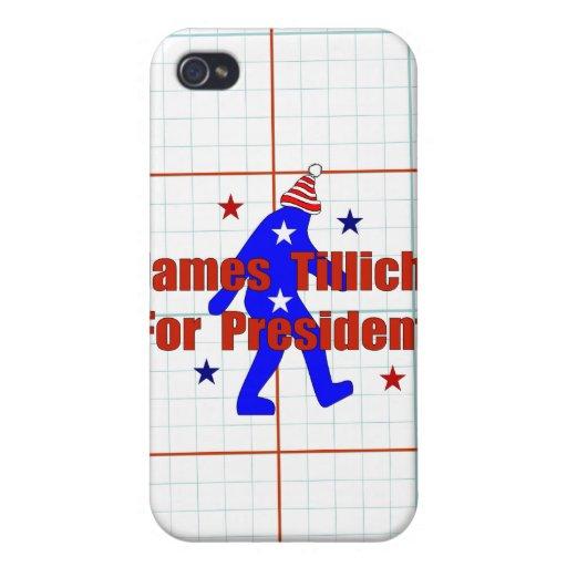 James Tillich para el presidente iPhone 4 Fundas