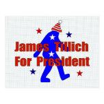 James Tillich para el presidente Postal