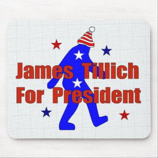 James Tillich para el presidente Tapete De Ratón
