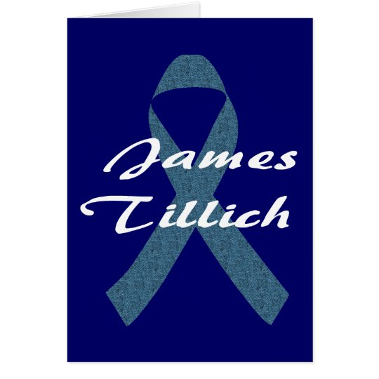 James Tillich Ribbon Card