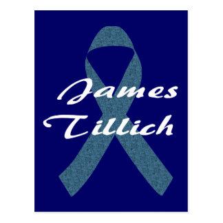 James Tillich Ribbon Postcard
