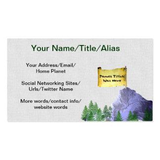 James Tillich Was Here Business Card