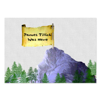 James Tillich Was Here Large Business Card