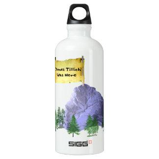 James Tillich Was Here Water Bottle