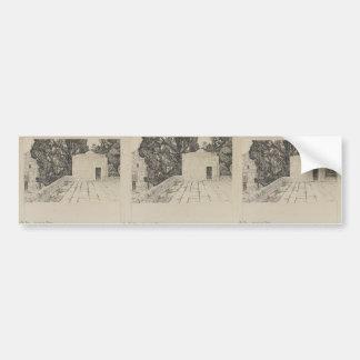 James Tissot- A Corner of the Haram Car Bumper Sticker