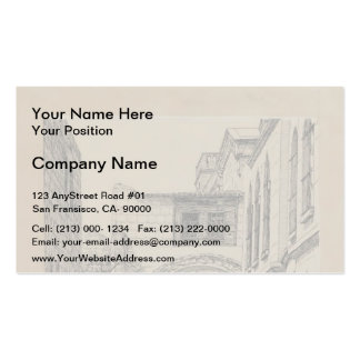 James Tissot- A Part of the Ancient Arch Business Card Templates