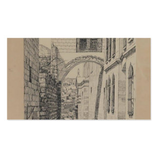 James Tissot- A Part of the Ancient Arch Business Card