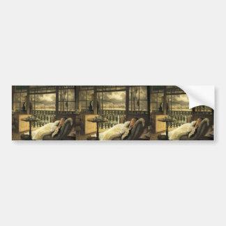 James Tissot- A Passing Storm Car Bumper Sticker