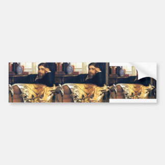 James Tissot- Algeron Moses Marsden Car Bumper Sticker