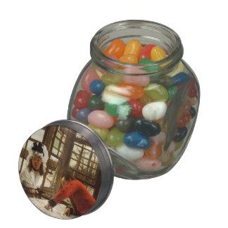James Tissot- An Interesting Story Glass Candy Jars