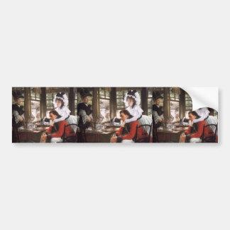 James Tissot- Bad News Car Bumper Sticker