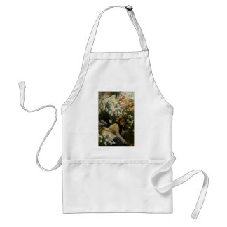 James Tissot Chrysanthemums Apron