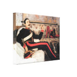 James Tissot - Colonel Frederick Gustavus Burnaby Stretched Canvas Print