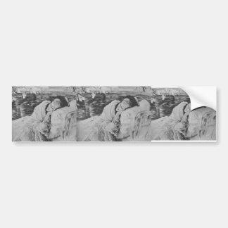 James Tissot: Convalescence Car Bumper Sticker