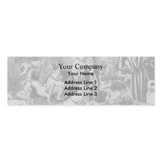 James Tissot: El fuego de la reparación Tarjeta De Visita