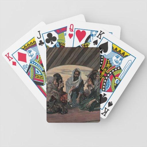 James Tissot: Jethro y Moses, como en el éxodo 18 Baraja De Cartas