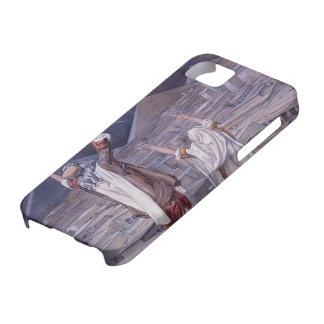 James Tissot La plaga de langostas iPhone 5 Case-Mate Carcasa