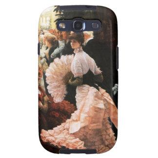 James Tissot la señora política Galaxy S3 Case Galaxy S3 Cárcasa