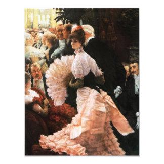 James Tissot la señora política Invitations Invitación 10,8 X 13,9 Cm