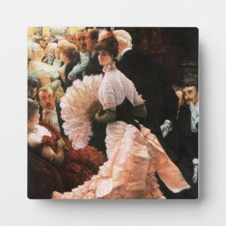 James Tissot la señora política Plaque Placas Con Fotos