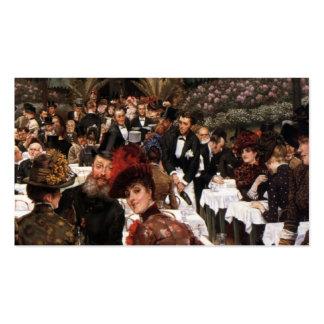 James Tissot- las señoras del artista Plantilla De Tarjeta De Negocio