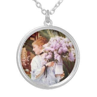 James Tissot Lilacs Necklace