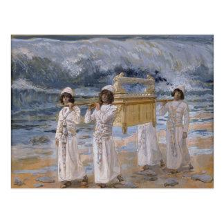 James Tissot - los pasos de la arca sobre la Jorda Postal