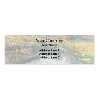 James Tissot: Mañana de la primavera Tarjetas De Visita
