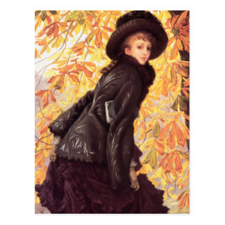 James Tissot October Postcard