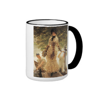 James Tissot On The Thames Mug