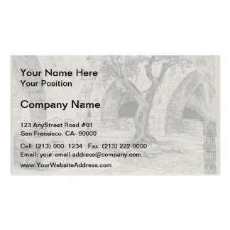 James Tissot:Out-building of the Armenian Convent Double-Sided Standard Business Cards (Pack Of 100)
