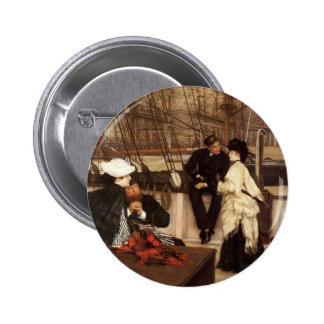 James Tissot Painting Button
