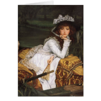 James Tissot Painting Card