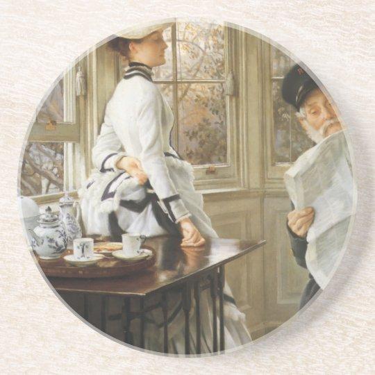 James Tissot Painting Coaster