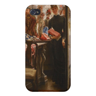 James Tissot Painting iPhone 4/4S Covers