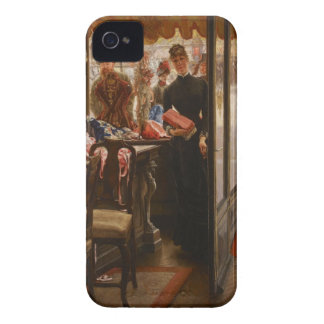 James Tissot Painting iPhone 4 Case-Mate Case