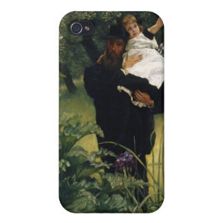 James Tissot Painting iPhone 4 Cases