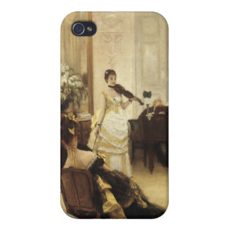 James Tissot Painting iPhone 4 Covers