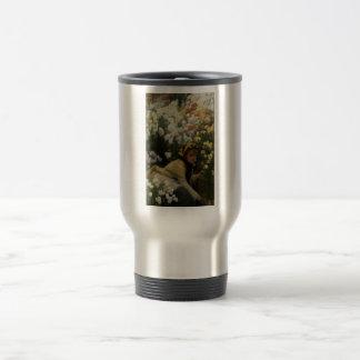 James Tissot Painting 15 Oz Stainless Steel Travel Mug