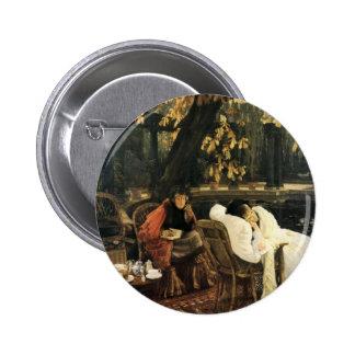James Tissot Painting Pinback Button