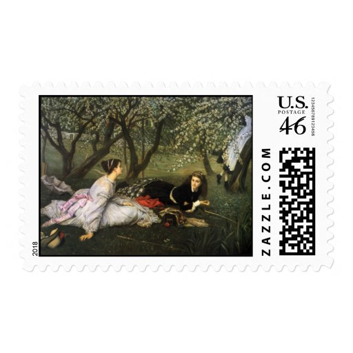 James Tissot Painting Stamps