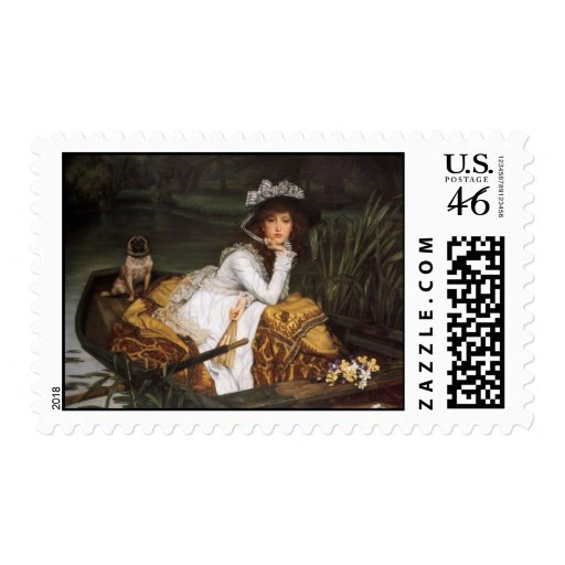 James Tissot Painting Postage Stamps