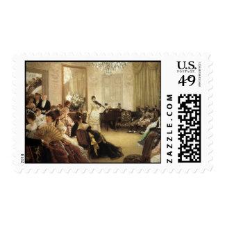 James Tissot Painting Postage