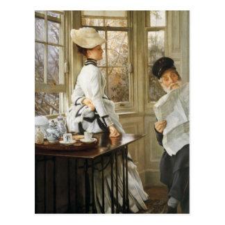 James Tissot Painting Postcards
