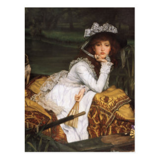James Tissot Painting Postcard