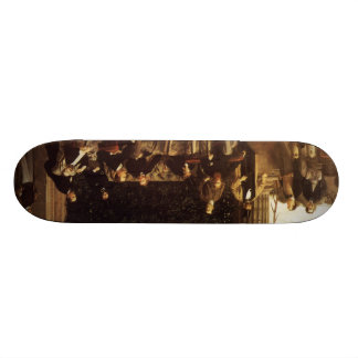 James Tissot Painting Skateboard