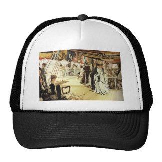 James Tissot Painting Trucker Hat