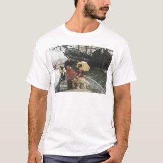 James Tissot Portsmouth Deckyard 1877 T-Shirt