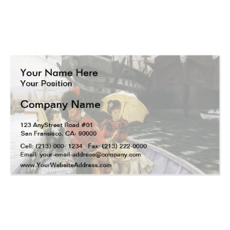James Tissot- Portsmouth Dockyard Double-Sided Standard Business Cards (Pack Of 100)